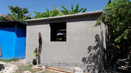 Por concluir obras de cuartos adicionales en Tuzantán
