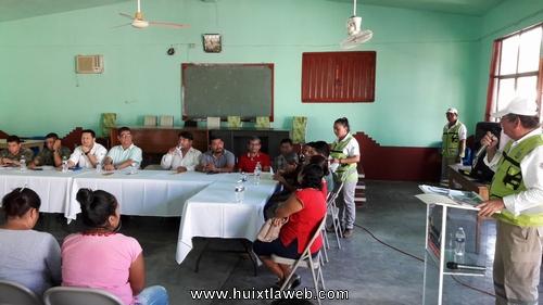 Presenta protección civil de Tuzantán Plan Específico Guadalupe Reyes