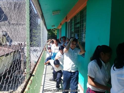 Protección Civil realiza simulacros en cuatros escuelas