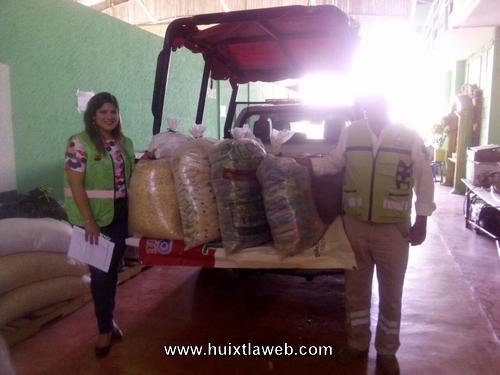 Entrega PC de Tuzantán ayuda humanitaria a desplazados del municipio de Chalchihuitán