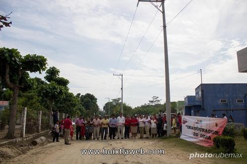 Inauguran ampliación de red de energía eléctrica de cuarto cantón en Tuzantán