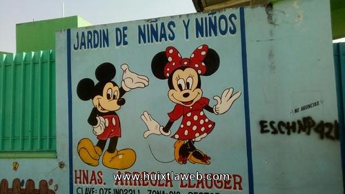 Más de 40 mil pesos se llevaron ladrones de jardín de niños de Huixtla