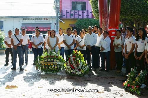 Conmemoración del 212 aniversario del Natalicio de Benito Juárez