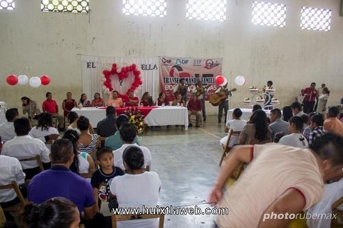 Celebran Bodas Colectivas 2018 en Tuzantán