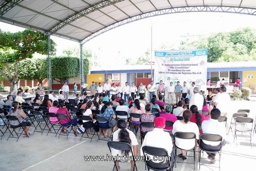 Brigada médica de especialidades 2018 en Comaltitlán