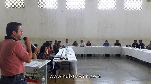 En sesión extraordinaria de COMSEP presentan nuevo fiscal del MP en Tuzantán