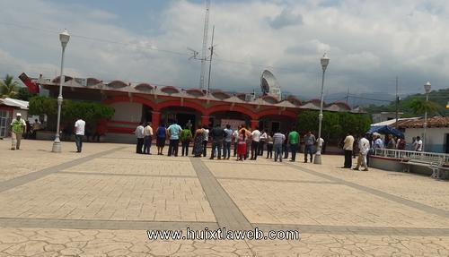 Se suma ayuntamiento de Tuzantán al simulacro de sismo 2018