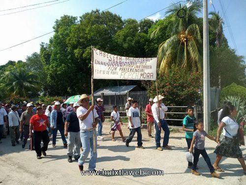 Protestan contra los altos cobros de la electricidad y contra reformas estructurales