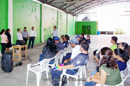 Realizan Capacitación en Materia de Prevención del Delito en Villa Comaltitlán