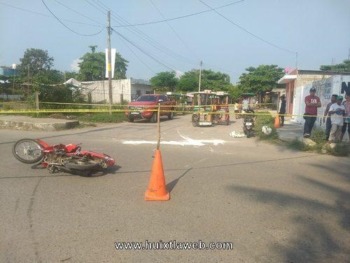Menor provoca accidente de motocicletas en Mazatán