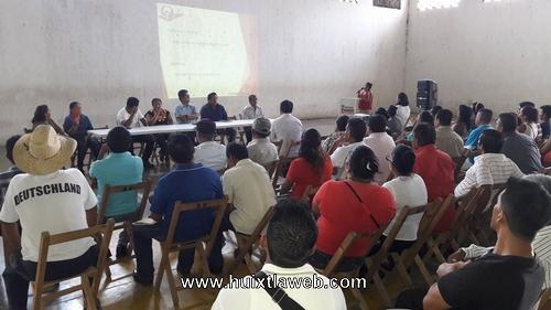 Lleva a cabo ayuntamiento de Tuzantán re-priorización de obras 2018