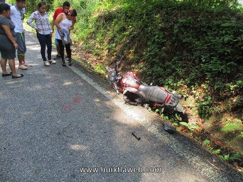 Motociclista fue impactado por tráiler carretera a Motozintla