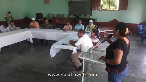 Presenta PC de Tuzantán plan específico de temporada de lluvias y ciclones 2018