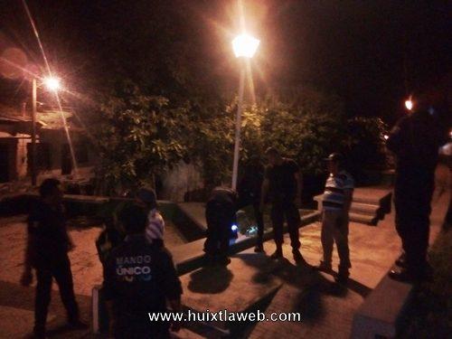Refuerzan operativos anti pandillas en colonias de Huixtla
