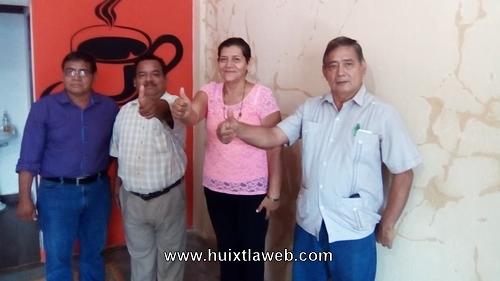 """""""En Huehuetán el PRD va a ganar la elección municipal el 1 de julio"""", Fidelia García Candidata, del Sol Azteca."""