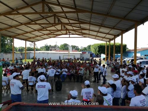 Visita candidata a diputada local de Morena Huixtla y Huehuetán