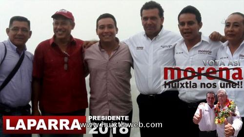 Zona alta de Huixtla hará presidente a José Luis Laparra