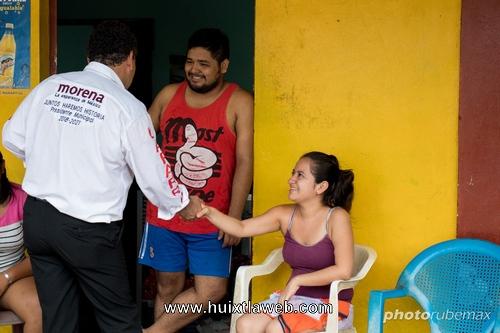 José Luis Laparra continúa sumando voluntades