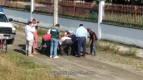 Una persona se lesiona en el puente nuevo milenio