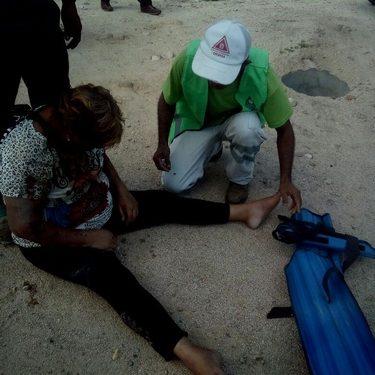 Localizan a mujer lesionada en zona cañera de Huixtla