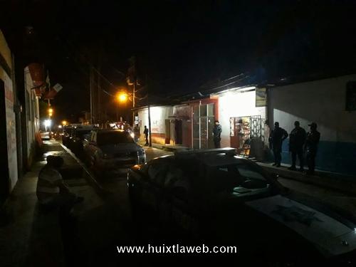 Refuerzan medidas de seguridad interinstitucional en Tuzantán