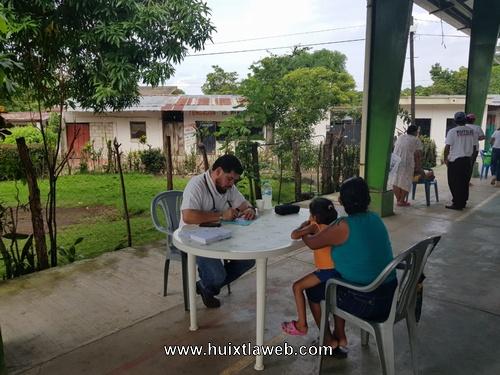 La Salud de las Familias Huixtlecas Será Prioridad en mi Gobierno: José Luís Laparra