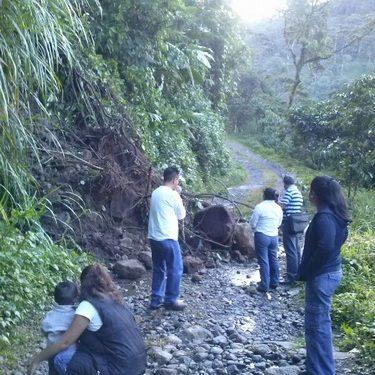Destrozado los caminos saca cosechas en Motozintla y Escuintla