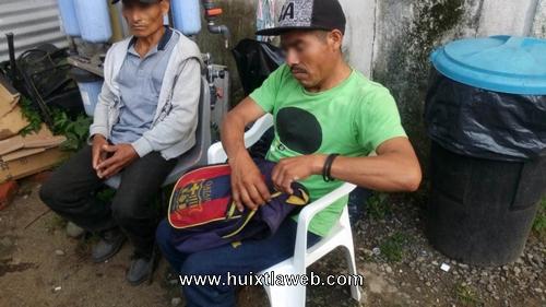 Policías acusados de ladrones en Huixtla