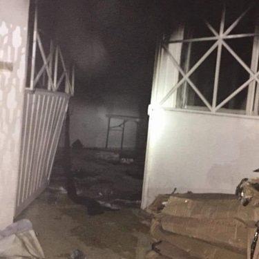 Encapuchados queman oficinas del IEPC en Motozintla