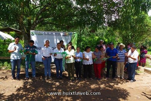 Inauguran construcción de Red de distribución de agua potable en Comaltitlán