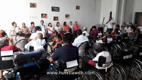 Lleva a cabo DIF de Tuzantán entrega de Ayuda Funcionales