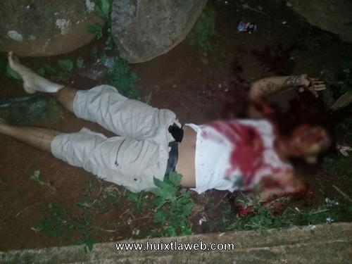 Riña de maras un muerto y un herido de gravedad en zona alta de Huixtla