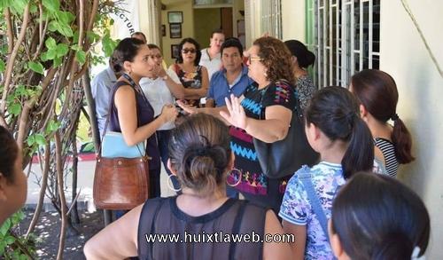 Rechazan a migrantes en la Casa de la Cultura