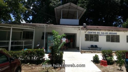 Inconclusa la reparación del centro de salud de Huixtla