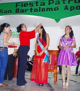 """Gran Coronación de la Reina Michelle I, e inicio de la fiesta patronal """"San Bartolomé Apóstol 2018"""""""
