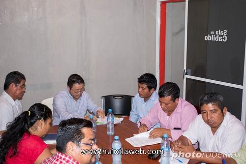Integran comité de entrega recepción en Tuzantán