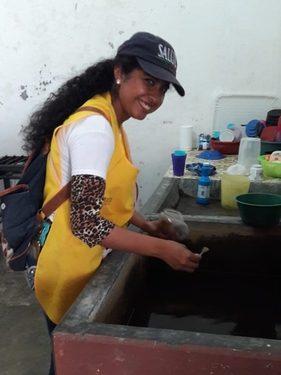 Control larvario por inundaciones en Villa Comaltitlán