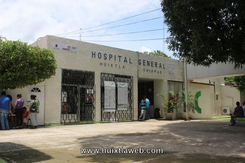 No pasa recertificación hospital de Huixtla