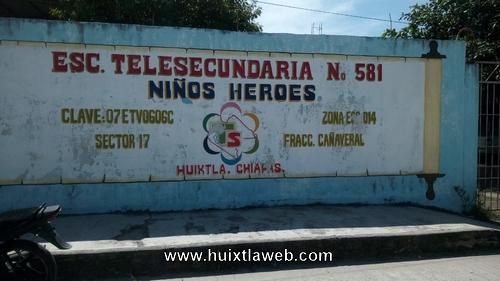Roban internet de escuela telesecundaria de los Milenios