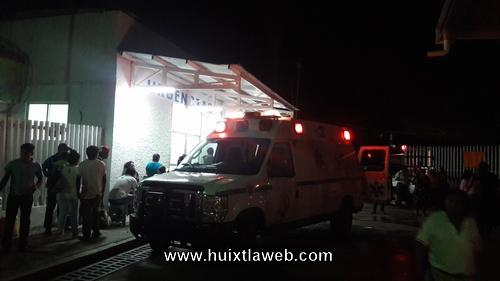 Muere balconero Atropellado en Huixtla