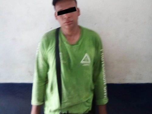 En operativo detienen a hondureño por robo en Huixtla