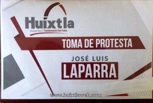 30 de Septiembre Toma de Protesta de José Luis Laparra Calderón