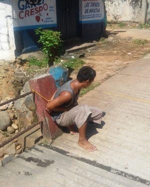 Pretenden linchan a ladrón del mercado de Huixtla