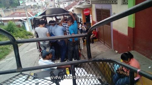 Aumentan tarifa de pasaje Huixtla Motozintla