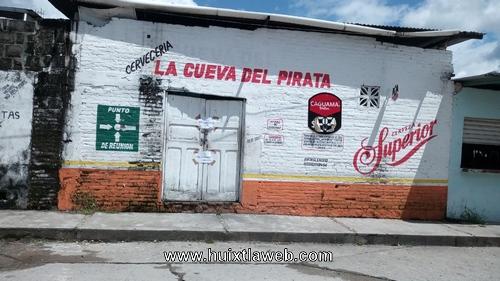 Continúan las clausuras de bares y cantinas en Huixtla