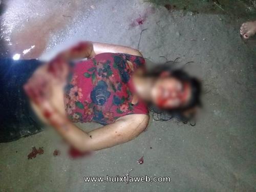 Quinceañera atacada por maras la dieron por muerta en Huixtla
