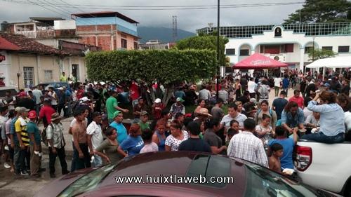 Llega a Huixtla la segunda caravana de Migrantes
