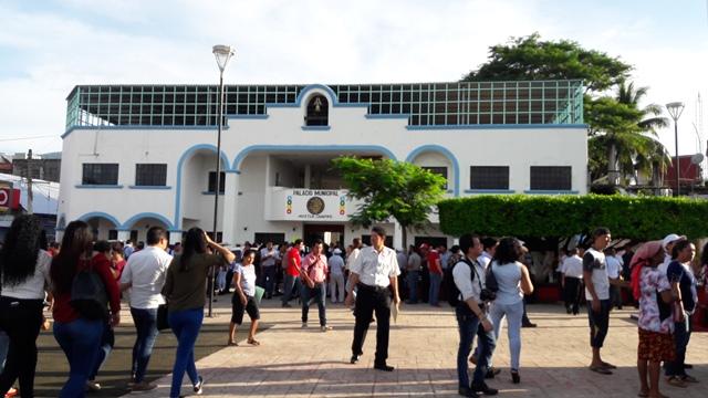 Gobierno municipal de Huixtla convoca a reunión con 3 niveles de seguridad.