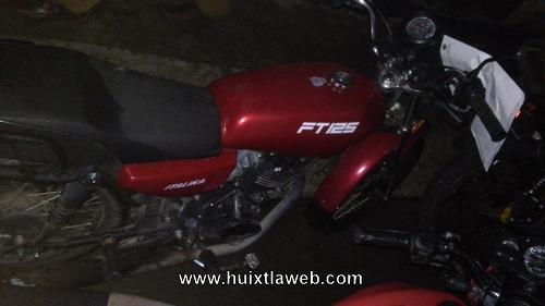 Recuperan motocicleta Robada a mujer en Huixtla