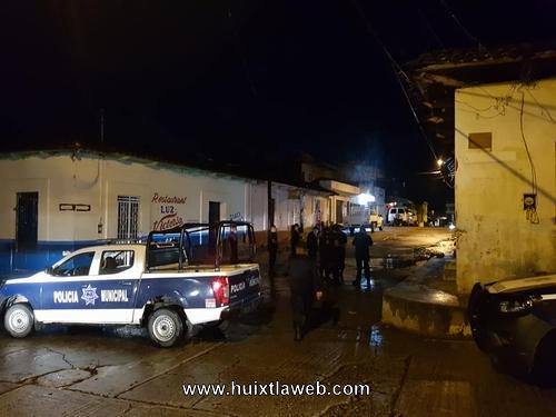 Siete detenidos por machetear a policías en Huixtla